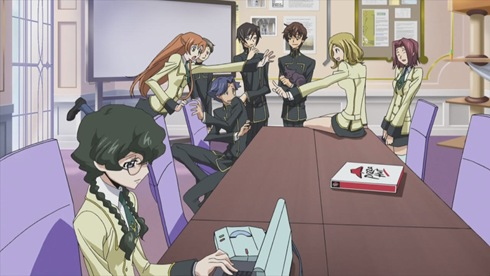 Code Geass 09 - Pizza hut