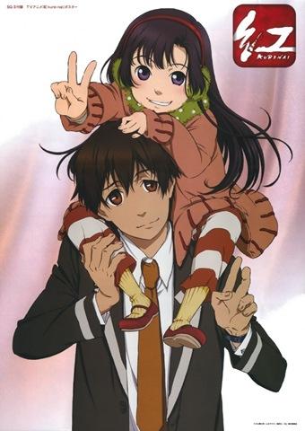 Megame poster - kuhouin_murasaki kurenai kurenai_shinkurou