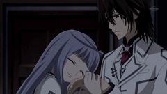 Vampire Knight 08- Kaname is not impressed.