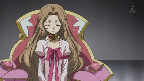 Code Geass R2 14 - Nunnally