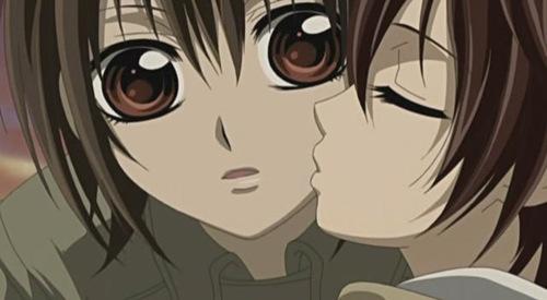 Vampire Knight 02  G2 - A kiss not from Kaname